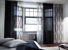 Panneaux japonais Drapes And Blinds, Decoration Stickers, Custom Curtains, Japan, Home Decor, Decorating Ideas, Couture, Design, Blinds