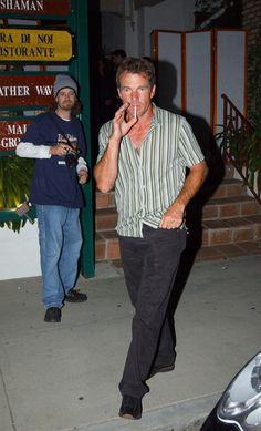 Dennis Quaid Photos - Smoking 2003 - Zimbio