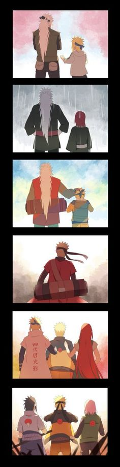 You were never truly alone Naruto