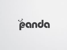 Panda Logo (Unused) by Louis D. Wiyono <Wizmaya>