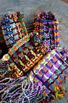 Wholesale lot of 25 butterfly friendship bracelets. Fair Trade,wristbands,cotton