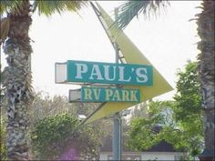 PauLs RV Park In Texas