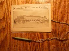 EXPOSITION PARK DANCING PAVILION CARD CONNEAUT LAKE PARK ,PA