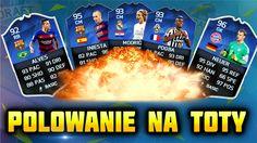 Fifa 16 | POLOWANIE NA TOTY [#4] | TEAM OF THE YEAR - OTWIERANIE PACZEK ...