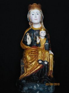 Virgen sedente con el Niño S. XIII  Villacete. León