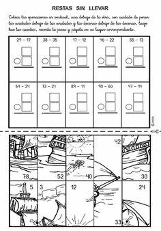 Actividades para niños preescolar, primaria e inicial. Fichas con sumas divertidas para imprimir para niños de primaria. Sumas Divertidas. 22