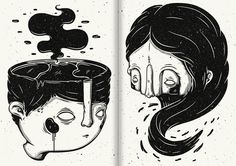 'Parallèle' Zine. by Christi du Toit, via Behance