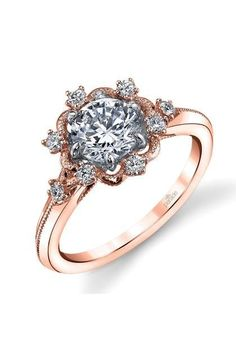 Parade Designs - Two-Tone Diamond Ring from Osterjewelers.com