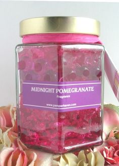 Midnight Pomegranate Room Air Freshener. Highly fragrant and long-lasting.