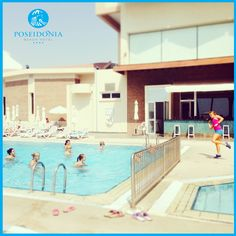 #AquaZumba Poseidonia Beach Hotel #DailyActivity at our #PoolArea! #KeepingFit while on Holidays & #HavingFun #Cyprus #Limassol