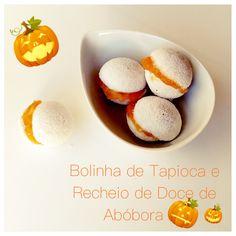 Tapioca + Doce de Abóbora