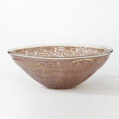 @globalviews Metallic Amber Bowl | Accessories | Table Top