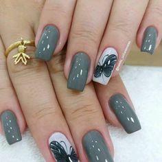 2019 Beautiful Nails to Rock - Naija's Daily Square Nail Designs, Best Nail Art Designs, Hot Nails, Hair And Nails, Manicure E Pedicure, Homecoming Nails, Bridal Nails, Artificial Nails, Square Nails