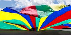 Parachute Games aren't just for Gym Class - Try out these parachute games and get your kids outdoors!
