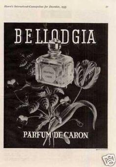 Caron Bellodgia Perfume (1935)