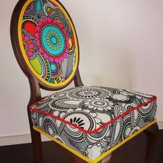 Cool funky chair design.