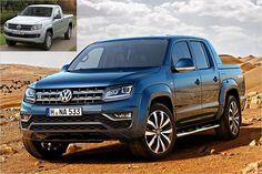 VW Amarok Facelift