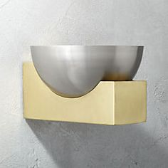bowl wall sconce