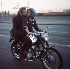 There's a romantic aspect to motorcycling.