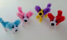 Pipe Cleaner Crafts for Kids | How to make a pipe cleaner corgi dog