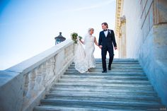 Bride and groom hold hands walking down marble staircase #Michiganwedding #Chicagowedding #MikeStaffProductions #wedding #reception #weddingphotography #weddingdj #weddingvideography #wedding #photos #wedding #pictures #ideas #planning #DJ #photography