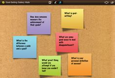 Do a Gallery Walk with the app iBrainstorm!