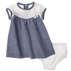 Genuine Kids from OshKosh ™ Newborn Girls' 2 Piece Dress Set - Blue