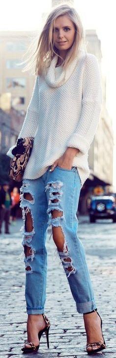 distressed style ♥✤   KeepSmiling   BeStayClassy