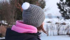 hackovana ciapka s bambulkou Winter Hats, Crochet, Fashion, Moda, Fashion Styles, Ganchillo, Crocheting, Fashion Illustrations, Knits