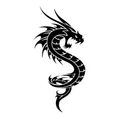 drago disegno tattoo - Cerca con Google