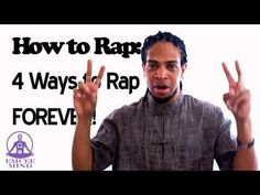 4 Ways to Rap Forever! How to Rap tutorial  Watch this How to Rap tutorial if: You can't freestyle rap pass 8 bars. You're mind goes blank. You no idea what to say next after rhyming in your freestyle rap. Your flow just falls off ending in a fumbled rhyme or studder or being tongued tied.    4 ways to flow forever  Rhymes  Associations  Opposites  Word Play (POW)  More tips and advice Check out http://Emceemind.com