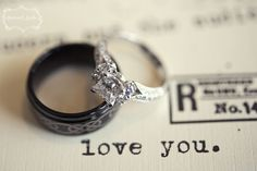 i love both of these rings <3