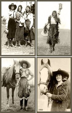 These are the real Old Cowgirls. America Antiques | Quilt Blocks | National…