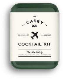 W&P Design Travel Carry onHot ToddyCocktail Kit (Mixed Set of - Hot Toddy Cocktail Kit / Moscow Mule Kit Carry On Cocktail Kit, Cocktail Mix, Stocking Stuffers For Adults, Aromatic Bitters, Cute Christmas Gifts, Christmas Holiday, Bar Spoon, Ginger Syrup, Hot Toddy