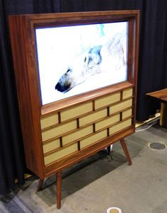 Wilkerson Furniture's Retro Flat Panel Console. I need this console