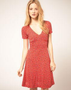 Tea dress, French Connection.