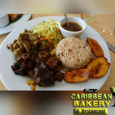 We make the best Jamaican food in the McDonough Ga!  #jamaicanfood #caribbeanatl #caribbeanculture #BeefPatties #CocoBread #Rice #currychicken by petes_caribbean_restaurant