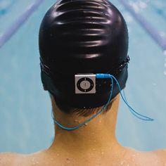 Waterproofed iPod Shuffle Swim Kit with Short Cord Headphones $154.95