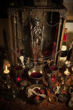 Altar for Moon Goddess