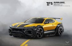 Artist Mark Yang has posted his work for Transformers: The Last Knight. These new concept art show off some really cool vehicle modes for Bumblebee and Bar