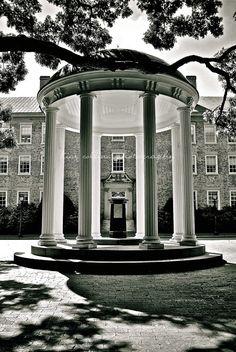 #OldWell #UNC Black & White-Chapel Hill, #NorthCarolina