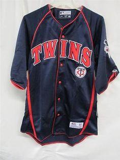 Minnesota Twins Mens X-Large Baseball Jersey by True Fan HH 3161 ( RK 30 E2 )