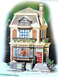 DEPT-56-Fred-Holiwell-039-s-House-Dickens-Village-NIB-RARE