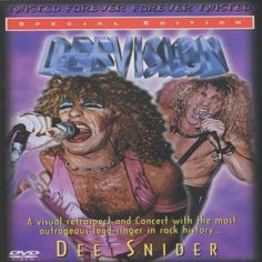 Dee Snider: Deevision (Special Edition)[DVD] [NTSC] MVD V... https://www.amazon.co.uk/dp/B00006II6L/ref=cm_sw_r_pi_dp_wD6ExbC1WFX7P