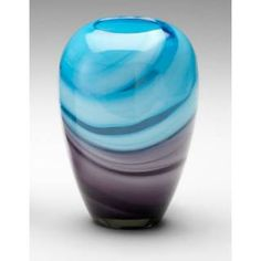 Check out the Cyan Design 04809 Callie Vase in Turquoise/Purple priced at $62.50 at Homeclick.com.