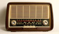 Antique Blaupunkt Ballett 2500 German Tube Radio (1958/1959).