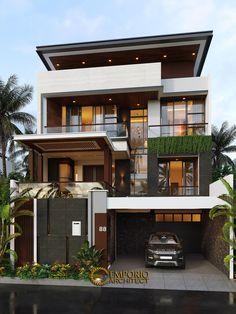 House Structure Design, House Roof Design, Home Building Design, Bungalow House Design, Modern Small House Design, Modern Exterior House Designs, Latest House Designs, Modern House Facades, Modern House Plans