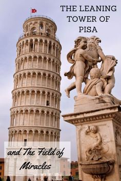 The Leaning Tower of Pisa is the campanile, or free-standing bell tower, of the cathedral of the Italian city of Pisa, famously known for its tipsy tilt to one side.