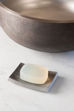 Aluminum Soap Dish by Stone Forest