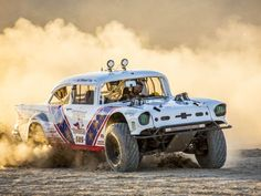 Can the Rebuilt Rippin' Rooster 1957 Chevy Take Revenge on the Mexican - Four Wheeler Maserati, Ferrari, Porsche, Audi, Bobber, Pajero Off Road, Aston Martin, Chevy, Chevrolet